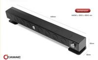 CAMAC Brand Bar style multi-media Built-in Subwoofer 2.1 Channel Active Speaker CAMAC CMK-30A for LCD LED Monitor desktop laptop