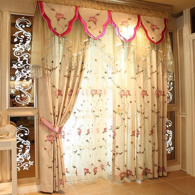 Cortina Para Quarto Direct Selling Excluded Sheer Curtains Autumn Rustic Hemp