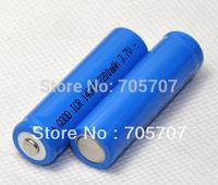 New LED Flashlight 14500 3.7V 2200mAh Li-ion 2 piece AA Camera Rechargeable Battery