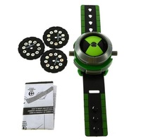 1pcs Cartoon BEN 10 Kids Children Projector Watch Alien Force OMNITRIX Drop Shipping