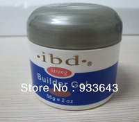 EMS Free shipping  wholesale 16pcs\lot UV Gel nail saloon profesional ibd Builder Gel 2oz / 56g 3 color can be choose