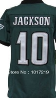 Cheap Kids American Football Jerseys #10 DeSean Jackson Youth Football Jerseys, Logos and Number Embroidery Logos