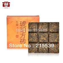 [GRANDNESS]  Amber Square Tea 60g * 2013 ,301 MengHai Tea Da yi TAETEA High Quality Puer Pu erh Ripe cooked Shu diet Tea Cha