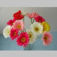 Artificial flower dyslexic flower gerberas gerbera silk flower dining table flowers
