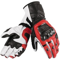 Druids  Leather Glove  motorcycle motorbike  gloves  six color Size S  M  L  XL 2XL