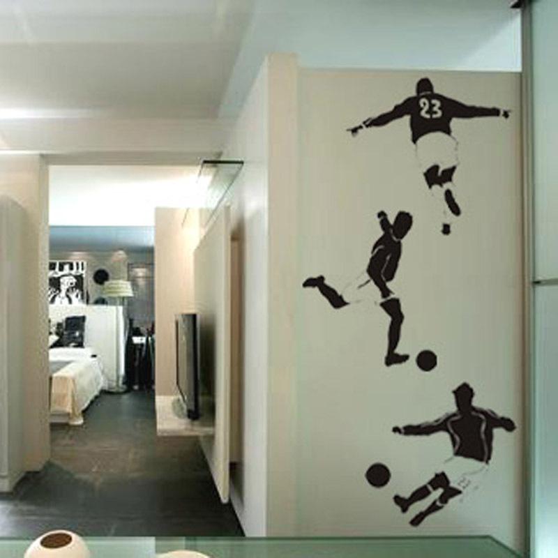 Online kopen wholesale voetbal kamer decoraties uit china voetbal kamer decoraties groothandel - Jongen kamer decoratie idee ...