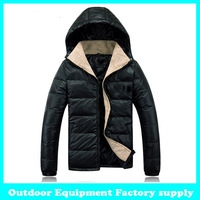 Fashion Men's winter Hoodies quilted overcoat Down-padded jacket clothing outerwear warm Fur Collar M-XXXL duck down coat