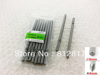10 Pcs 5mm x 5mm x 100mm PH1 Magnetic Crosshead Screwdriver Bits