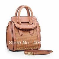 9819 2013 new smile face handbag original leather top quality wholesale and retail