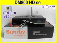 sim210 card D11 version sunray 800 SE wifi  SE 800se satellite receiver 800 hd SE Ex USB M tuner