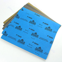 "D195 sheets Sandpaper sand paper Waterproof Paper 9""x11"" Wet/Dry Silicon Carbide"