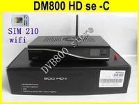 DVB 800HD se cable tuner 300m wifi sim210 card cool fan sunray 800 SE-C receiver 800 hd SE