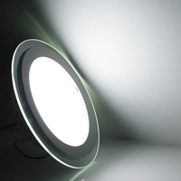 2013 new design magnetic slim led ceiling panel light 12w warm cold white lamp for home