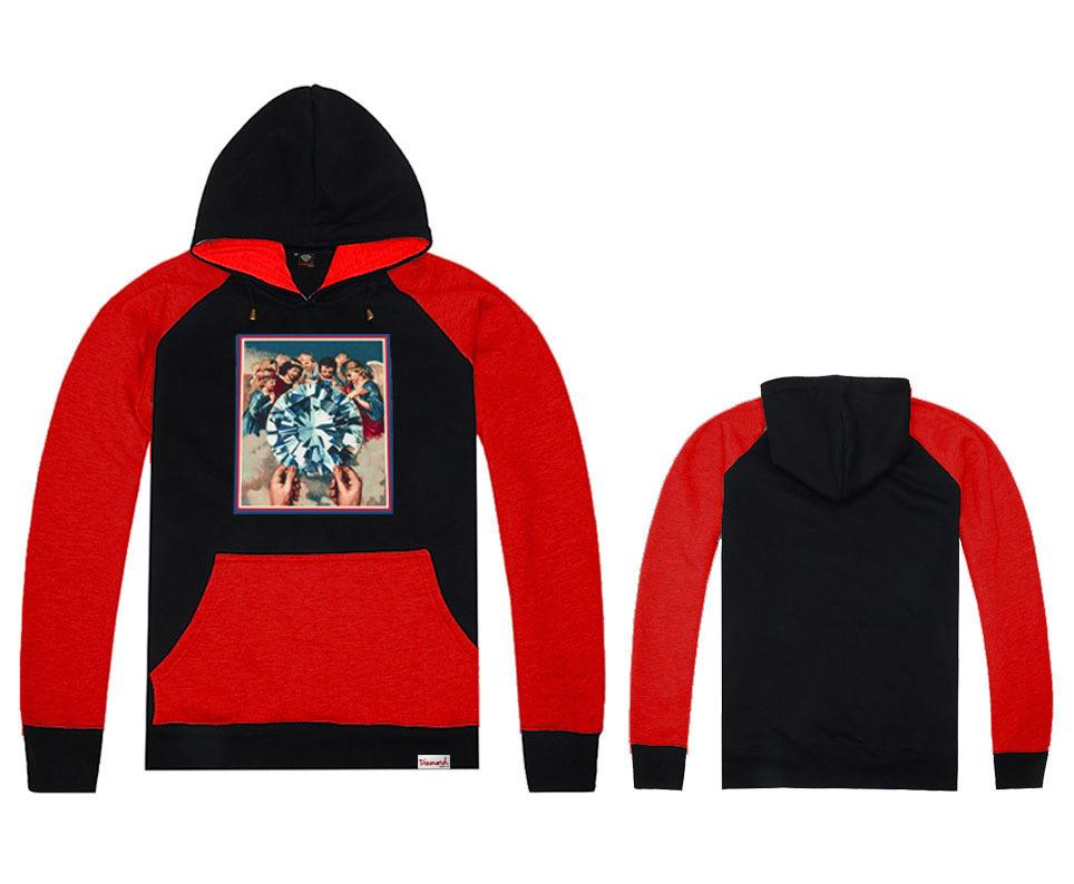 Brand Diamond Supply Co Hoodies Autumn &winter 100% cotton Designer round neck Hoody Men's Hoodies hiphop Clothing(China (Mainland))