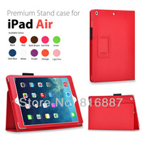 Wholesale ! Case For iPad Air Cover Stand Tablet Leather Cover For Apple iPad 5 ipad air Case Free Ship