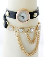Free delivery new products sell like hot cakes!Style gold pendant bracelet quartz watch
