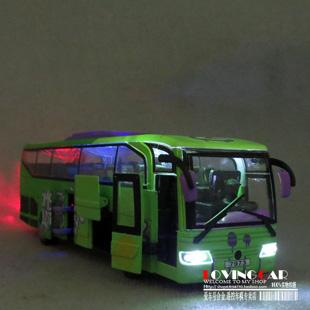 FREE SHIPPING Plain big bus the door WARRIOR alloy toy car model(China (Mainland))