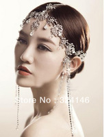 New Arrival Luxurious rhinestone hair jewelr,fashion frontlet accessories for women,