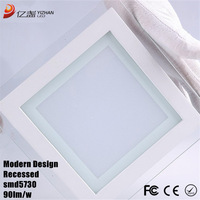 square ceiling 12w 15w 18w led ceiling panel lamp lights for home 20pcs/lot