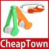 excellent fancy [CheapTown] Mini Sun Glasses Eyeglass Microfiber Brush Cleaner New Save up to 50% worldwide economically