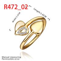 New Arrival 18K Gold Plated Ring,Fashion Jewelry Ring,18K Rhinestone Austrian Crystal Ring Men Women Wedding Rings SMTPR472