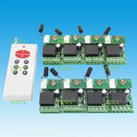 High quality DC 24V 1 channel wireless remote control switch trailer 8 +100 m 8 key remote control