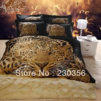 Free shipping 3d oil painting piece set of cotton 100%  ,cartoon four piece set 100% cotton bedding wholesale