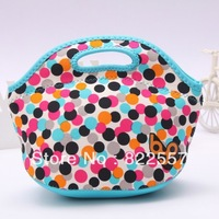 2013 new waterproof compression large capacity insulation wetsuit material 24 * 18 * 15CM picnic lunch bag free shipping