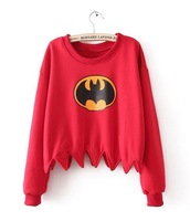 Batman hoodie geek 2013 new winter autumn chemistry big bang marvel DC biology physics movie clever smart sexy