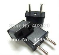 Freeshipping ,No tracking a plug Travel Power Adapter charger USA US EU Europe to EU Adaptor Plug Converter AC Power Plug