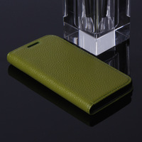 For  Nexus 5 Case, Top Quality Genuine Leather Case For  Nexus 5 Wallet Stand with Credit card holders,Free Screen film,1pcs/lot