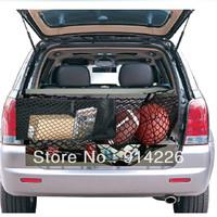 Interior accessories ratchet strap B Luggage Rear Trunk Cargo Net Envelope Organizer Fit Lexus GX470 2003-2009