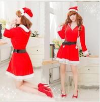 women's long-sleeve christmas costume