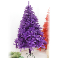 Like christmas encryption pine tree 1.8 meters light purple pine christmas tree customize