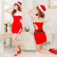 Christmas uniforms party Cheongsam