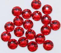 Super Shiny 1440p ss6 2mm Dark Red Crystal non-hotfix  Dark Siam Nail  Rhinestones for Nails 3D Nail Art Decoration DIY Bead