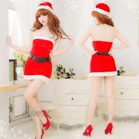 christmas short one-piece temptation skirt