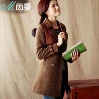 Inman 2013 woolen outerwear female outerwear women's autumn and winter