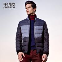 Men's clothing 2013 winter male outerwear down coat slim short design 8177