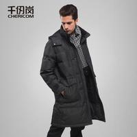 11 Men medium-long down coat male men's clothing down coat 1679