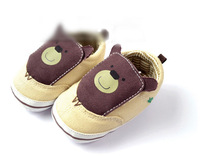 hot sale high quality bear shape baby first walkers shoes boys and girls shoes soft sole 3 sizes