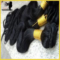 Unprocessed virgin indian body wave,virgin human hair weave bulk,3bundles lot,grade 5a,color #1#2#1b#4,free shipping