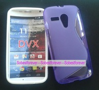 1pcs/lot+free shipping,s line silicone gel tpu cover case,For Motorola Moto G DVX XT1032 XT1028 XT1031,high quality