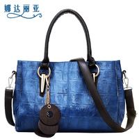 New arrival 2013 hot sale classic style PU leather 12 colors beauty women's shoulder bag cross-body handbag
