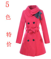 Winter thickening outerwear DUOYI AYILIAN female wool coat slim ccdd