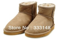 New Arrival  Australia Women's Classical Style Top Quality Snow Boots Brand 5854 Winter Leather Shoes FreeShipping