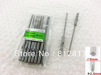 Hardware Spare Part Magnetic 2.5mm Bit Phillips PH0 Screwdriver Bits 10 Pcs