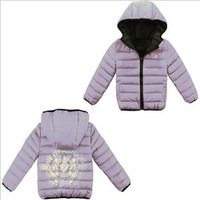 Children's clothing 2013 autumn and winter child down coat outerwear male child down coat female child down coat