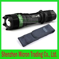SA9 ULTRAFIRE7W CREE XR-E Q51800 Lumen 5 Mode Scalable LED Flashlight Torch Flashlight + nylon holster