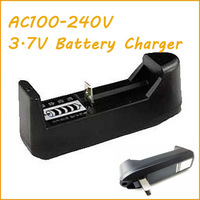 Promotion! 10pcs 3.7V Battery Charger for 18650, 14500, 17500, 18500, 26650,10440, 16340,And 17670 Free Shipping